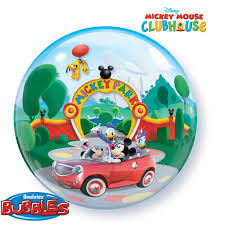BUBBLE BALLON MICKY MOUS CAR