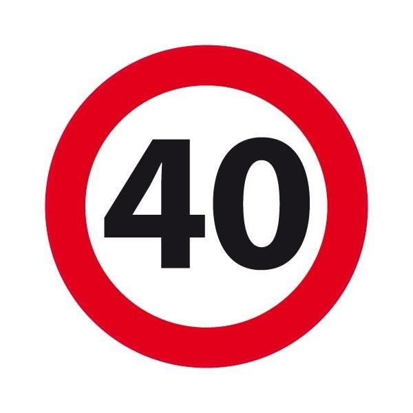 40 Jaar Verkeersbord