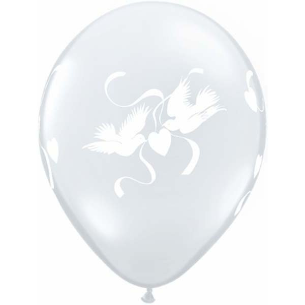 Qualatex ballon love dove