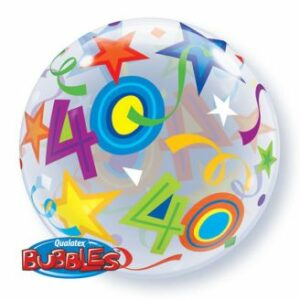 BUBBLE BALLON STAR 40