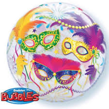 BUBBLE BALLON MASKERS