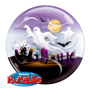 bUBBLE BALLON HELLO WEEN SPOOK